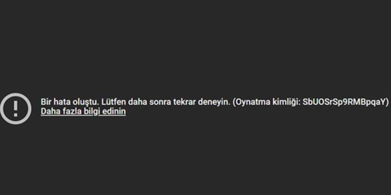 Youtube çöktü mü? 12 Kasım YouTube erişim sorunu için ilk açıklama