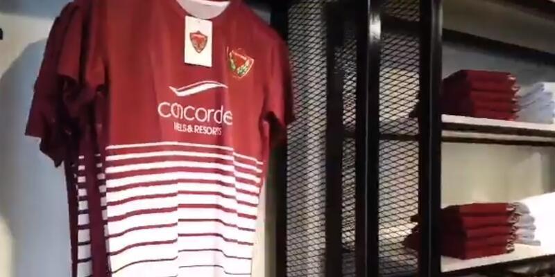 Hatayspor Store'un ikinci mağazası açıldı