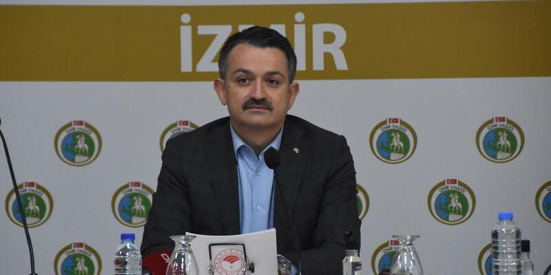 """Bakan Pakdemirli: """"İzmir tarihinin en büyük dönüşümü şimdiden hayırlı olsun"""""""