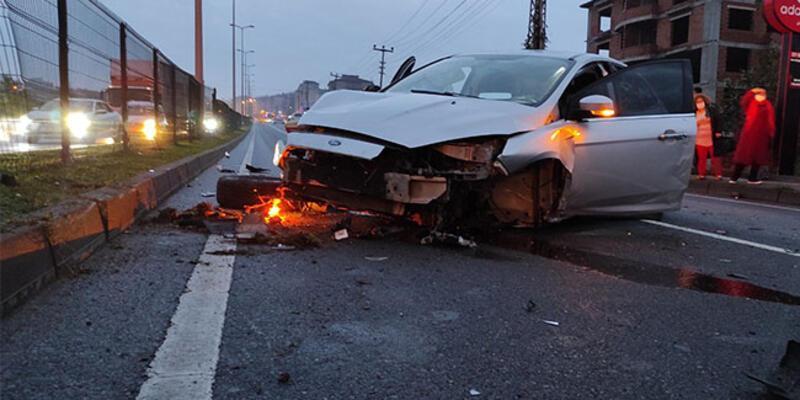 4 aracın karıştığı zincirleme kaza: Çok sayıda yaralı var