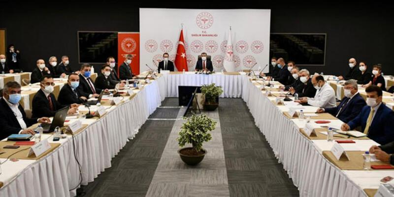 Son dakika haberi... İstanbul'da koronavirüs toplantısı