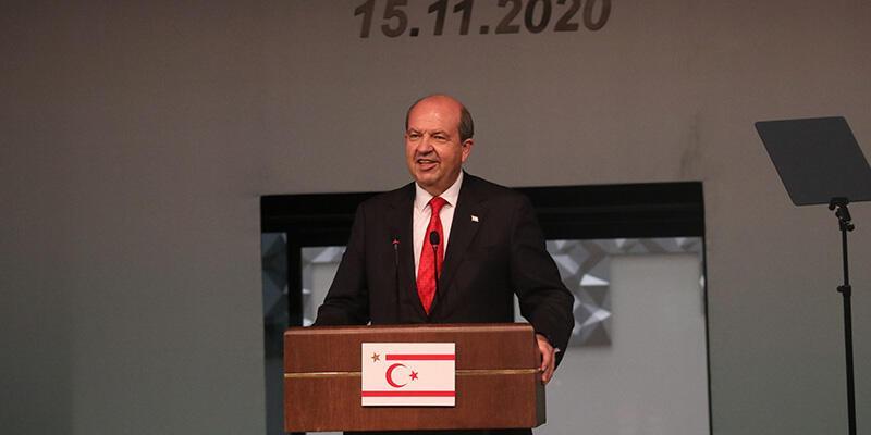 KKTC Cumhurbaşkanı Tatar'dan Türkiye'ye destek teşekkürü
