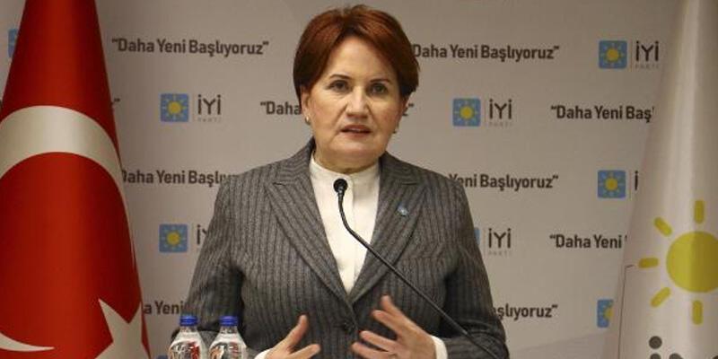 İYİ Parti Lideri Akşener'den Ümit Özdağ açıklaması