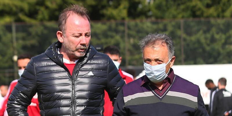 Beşiktaş son dakika haberleri: Çebi'den Sergen Yalçın'a destek!