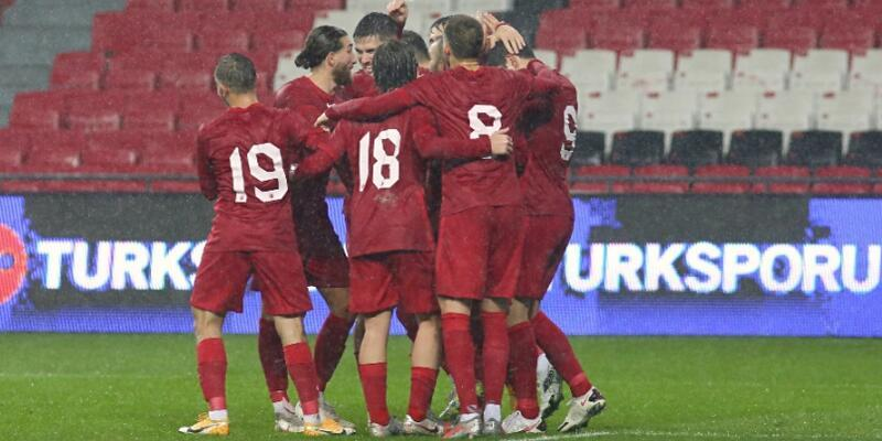 Milli Takım'dan Kosova'ya 3 gol