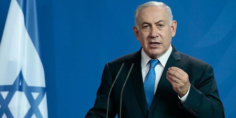 """Netanyahu'dan """"Suriye'de İran güçlerine saldırı düzenledik"""" açıklaması"""
