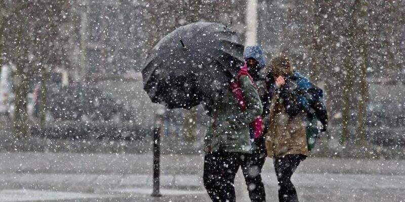20 Kasım hava durumu: Karla karışık yağmur geliyor