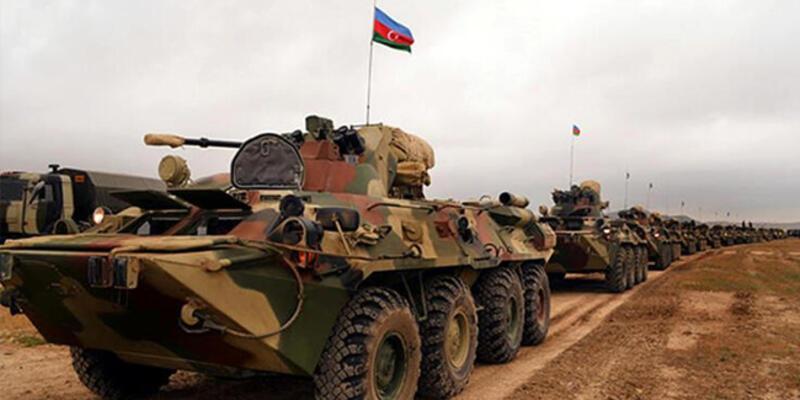 Son dakika... 27 yıl sonra bir ilk! Azerbaycan ordusu girdi