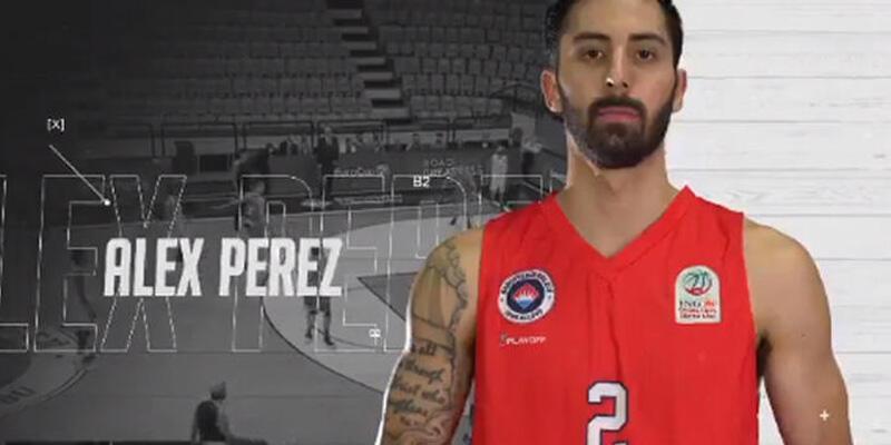 Son dakika... Alex Perez resmen Fenerbahçe Beko'da