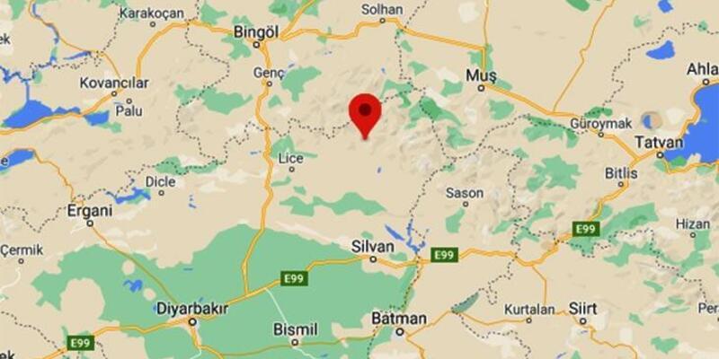 Son dakika: Diyarbakır'da 3.9 büyüklüğünde deprem