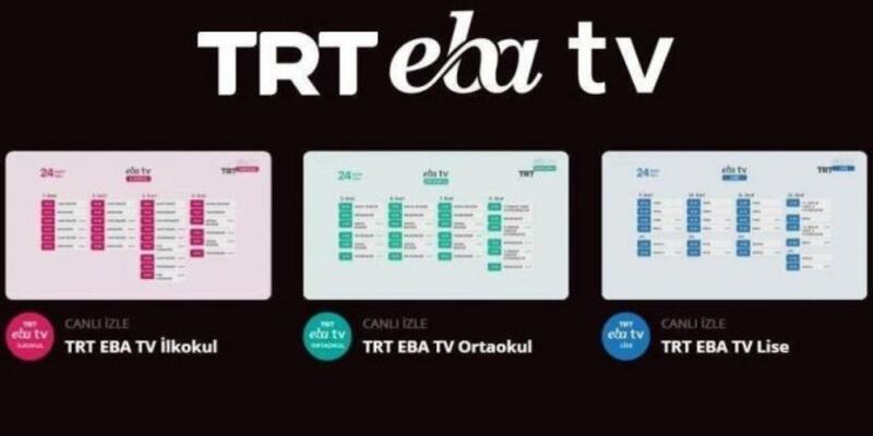 Canlı ders var mı? 23 27 Kasım 2020 EBA lise ders programı ve saatleri belli oldu! EBA TV lise izle!