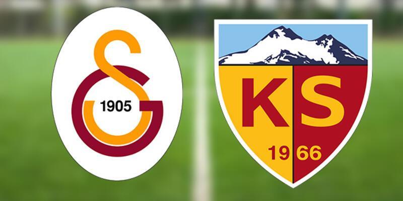 Galatasaray Kayserispor maçı ne zaman? GS Kayseri maçı saat kaçta, hangi kanalda?