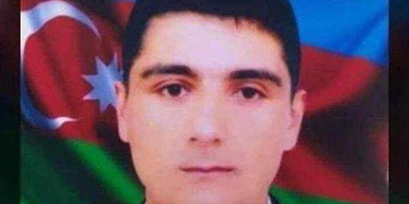 Azerbaycanlı şehidin mezarına Galatasaray bayrağı dikildi