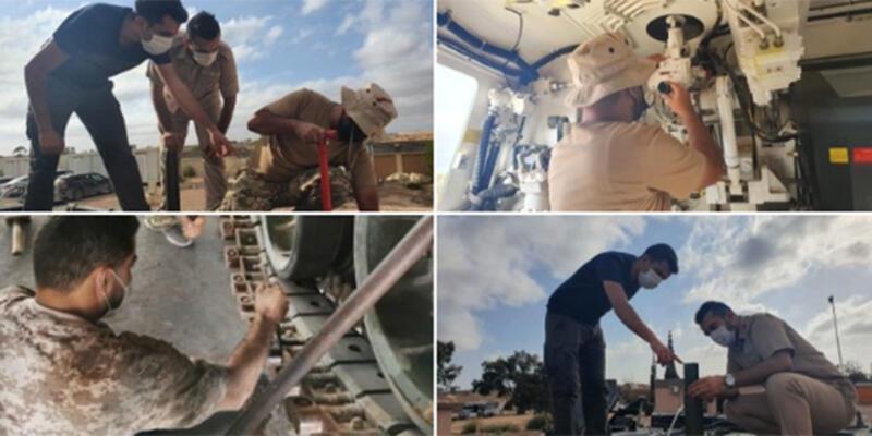 """MSB: """"Libya Silahlı Kuvvetlerine yönelik eğitimler devam ediyor"""""""