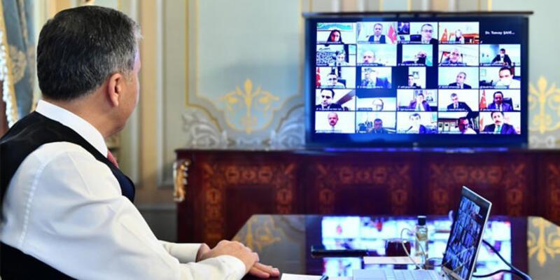 Vali Yerlikaya, İl Filyasyon Çalışmaları Takip Kurulu toplantısına katıldı
