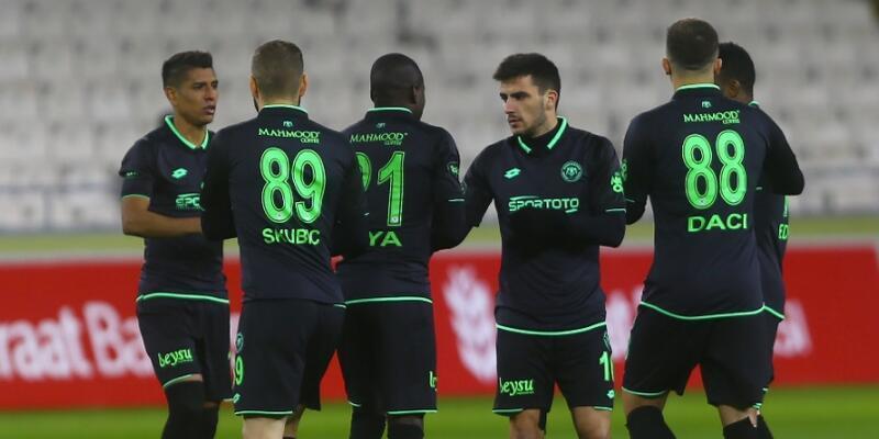 Konyaspor 7 golle turladı