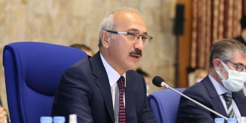 Bakan Elvan TÜSİAD heyeti ile görüştü