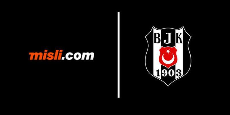 Misli.com Beşiktaş'a sponsor oldu