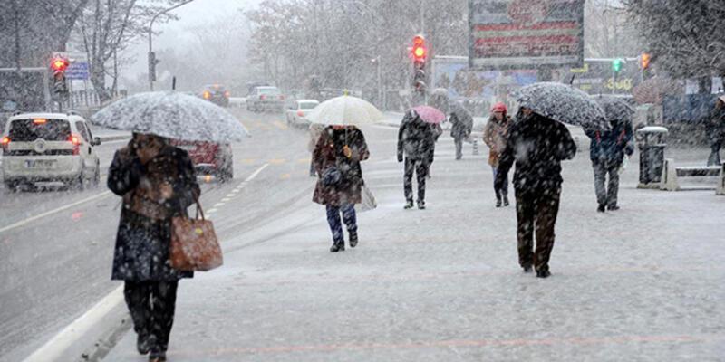 28 Kasım hava durumu: Kar ve sağanak uyarısı
