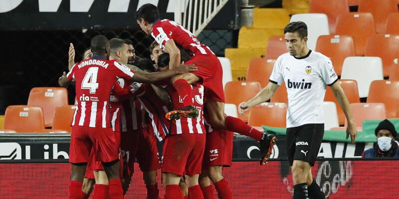 Valencia - Atletico Madrid: 0-1