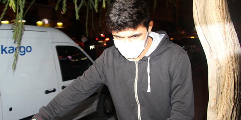 Sokağa çıkma kısıtlamasına uymayan genç cezadan kaçamadı