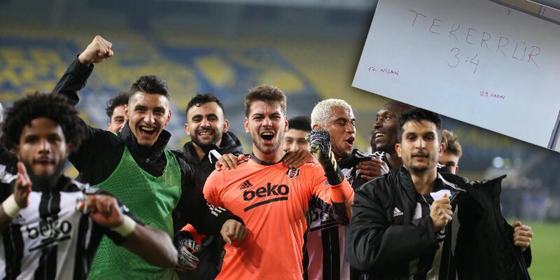 Beşiktaş'tan 4-3'lük derbi paylaşımı