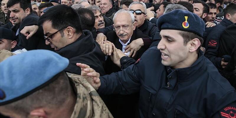 Kılıçdaroğlu'na şehit cenazesinde saldırı davası başladı