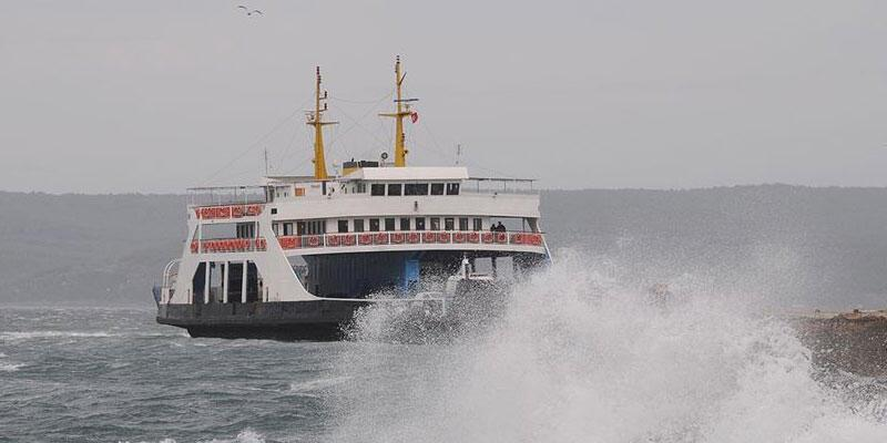 Gökçeada'ya yarınki bazı feribot seferleri iptal edildi