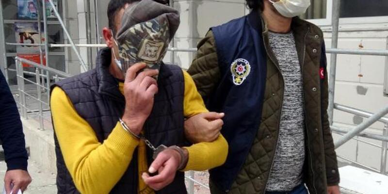21 yıl hapis cezasıyla aranan kişi simit satarken yakalandı