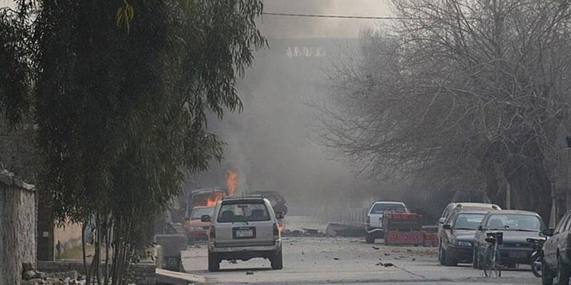Kabil'de Rus diplomatları taşıyan aracın geçişi sırasında mayın patladı