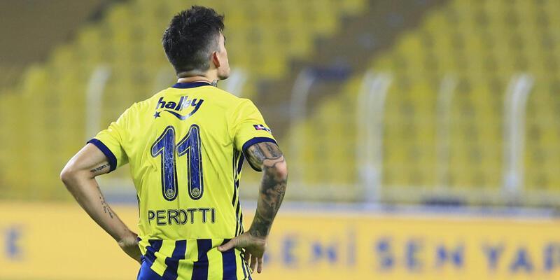 Fenerbahçe son dakika haberleri: Perotti'den Fenerbahçe'ye kötü haber!