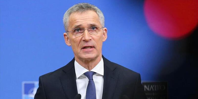 NATO Genel Sekreteri Stoltenberg, Macron ile görüştü