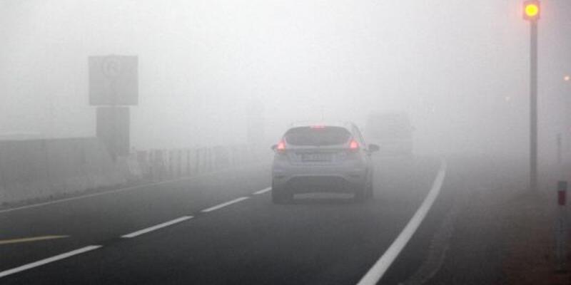 Bolu Dağı'nda yoğun sis ulaşımı yavaşlattı