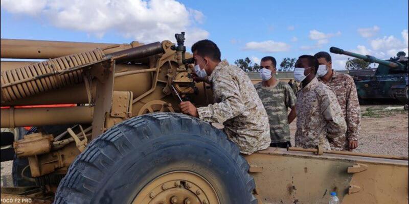 TSK'dan Libya ordusuna eğitim desteği