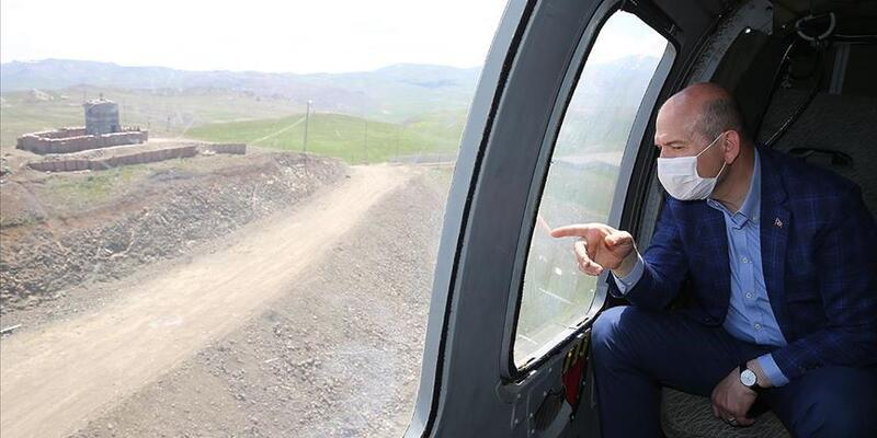 Bakan Soylu duyurdu: Ağrı-İran sınırına 81 kilometrelik güvenlik duvarı tamamlandı