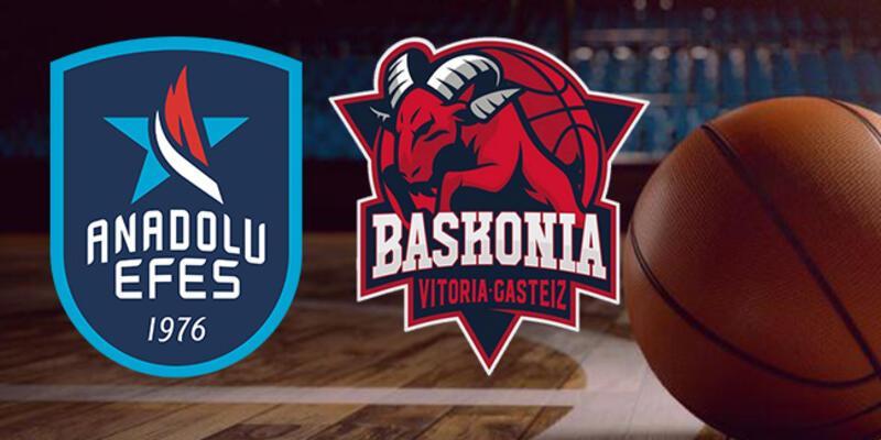Anadolu Efes Baskonia basketbol maçı hangi kanalda, ne zaman, saat kaçta?