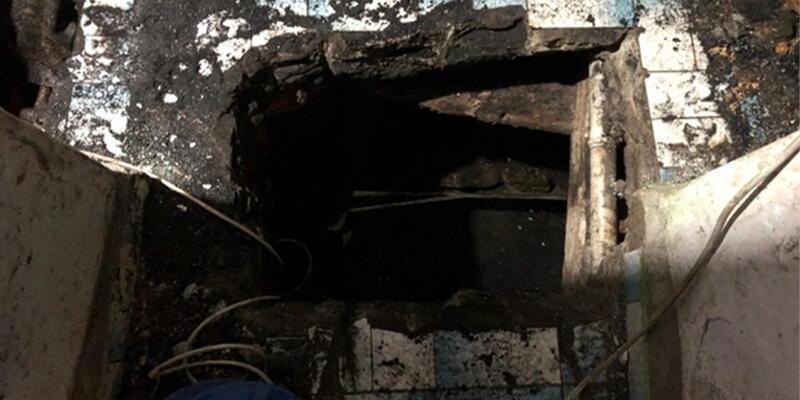 Gören şaştı kaldı! Evin içine kaçak kömür ocağı