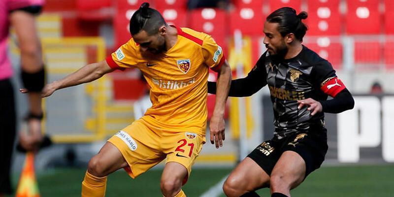 Göztepe - HK Kayserispor: 1-1
