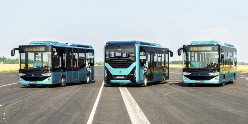 """Karsan """"otonom ve elektrikli"""" otobüs üretimine başladı"""