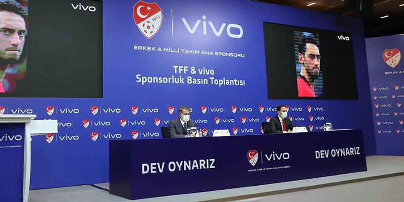 Son dakika... TFF ile Vivo arasında sponsorluk anlaşması imzalandı