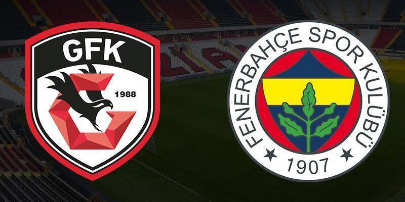 Gaziantep FK - Fenerbahçe CANLI YAYIN