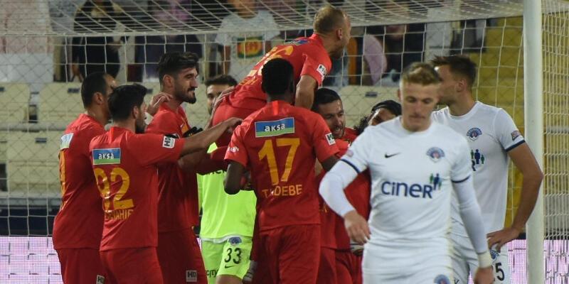 Yeni Malatyaspor-Kasımpaşa: 2-0