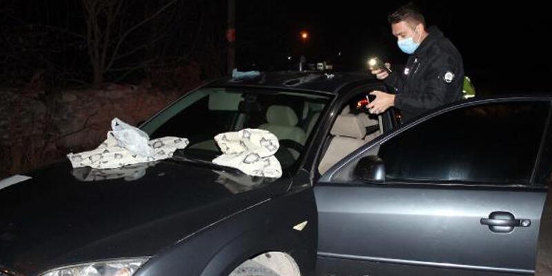 Polisin 'dur' ihtarına uymayan otomobilde uyuşturucu ele geçirildi