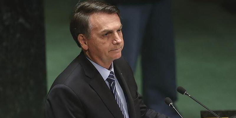 Brezilya Devlet Başkanı Bolsonaro, Kovid-19 aşılarına güvenmiyor