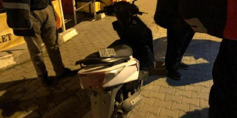 Kısıtlamada alkol servisi yapan motosikletliye 8 bin lira ceza