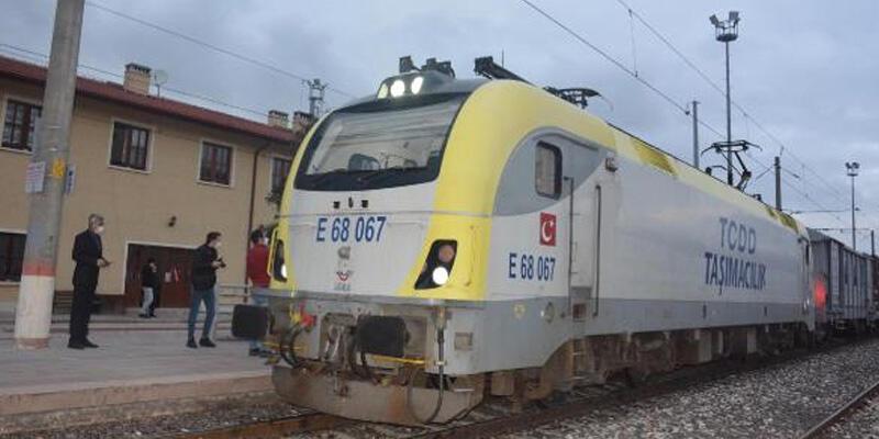 Çin'e giden ikinci ihracat treni Bilecik'e ulaştı