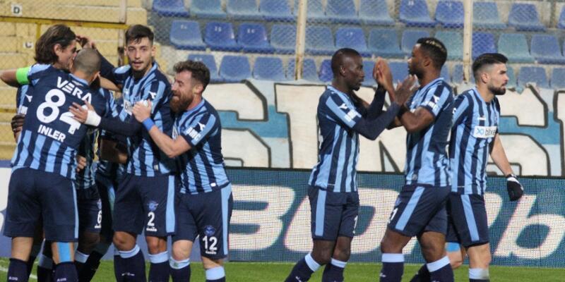 Adana Demirspor 3 golle kazandı
