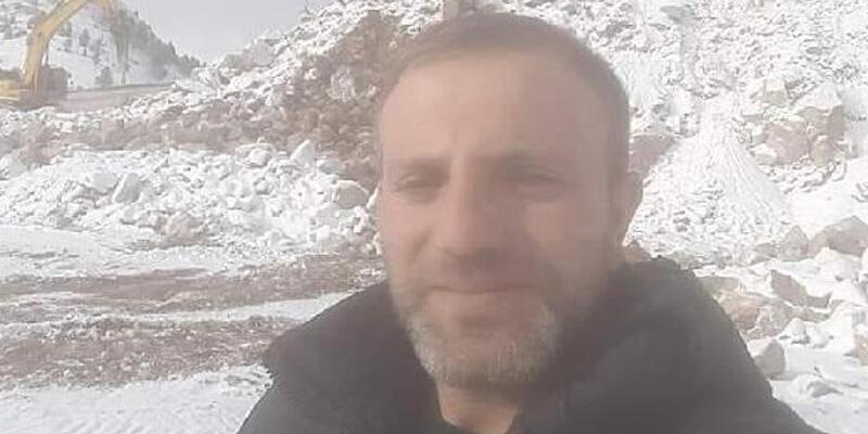 Taş ocağındaki patlatmada taş isabet eden 1 işçi öldü, 1 işçi yaralı