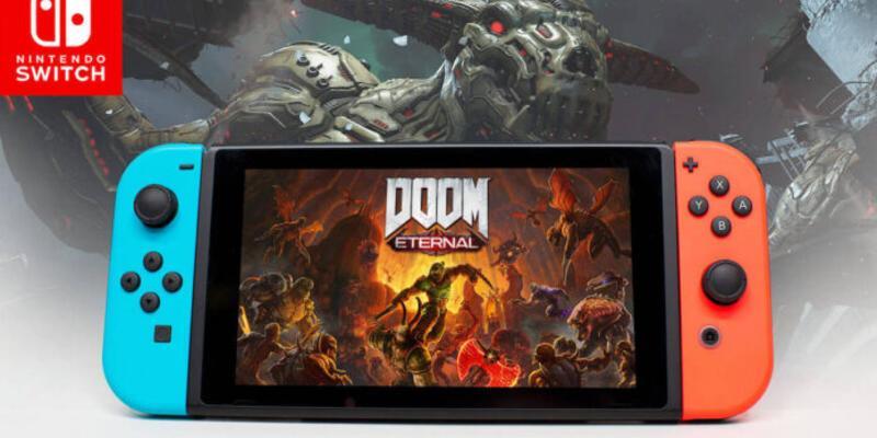 Doom Eternal Nintendo Switch'te nasıl görünüyor