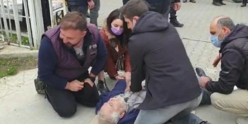 Yolda kalp krizi geçiren adamı acil tıp teknisyeni kurtardı